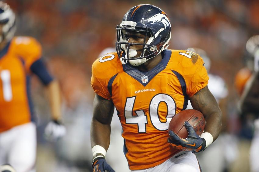 Juwan Thompson St Croixs Juwan Thompson Projected To Make Denver Broncos Team At